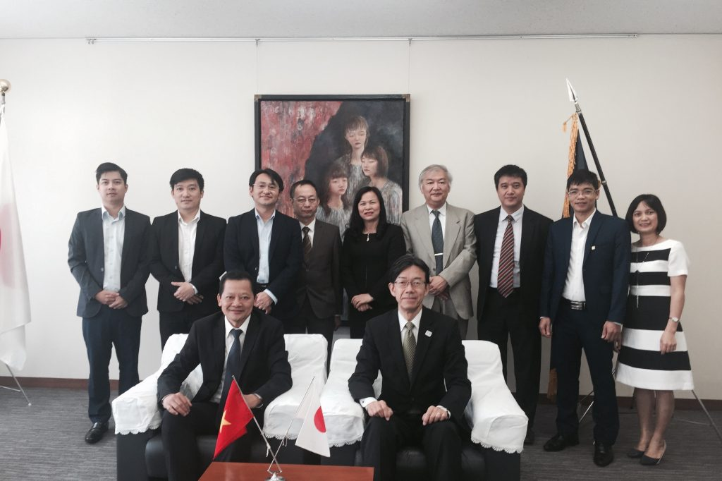 VFIC CONSTRUCTION COOPERATES WITH JAPANESE PARTNERS