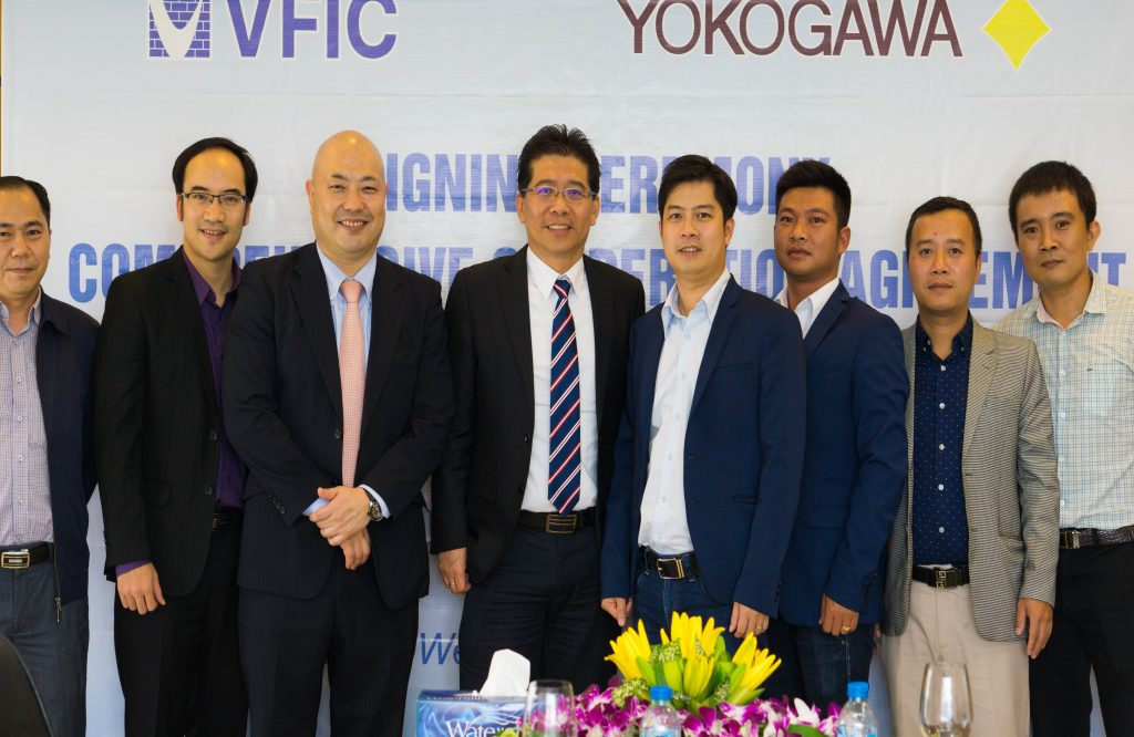 VFIC CONSTRUCTION COOPERATES WITH YOKOGAWA