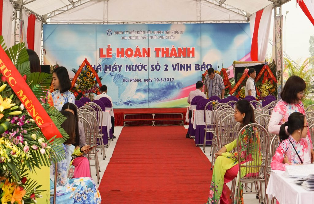 INAUGURATION OF VINH BAO 2 WATER PLANT